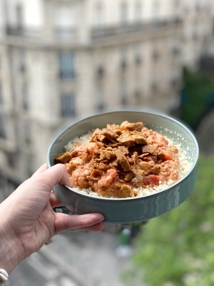 Le curry mafé